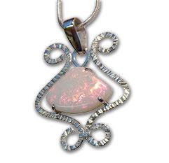 Handmade Opal Pendant