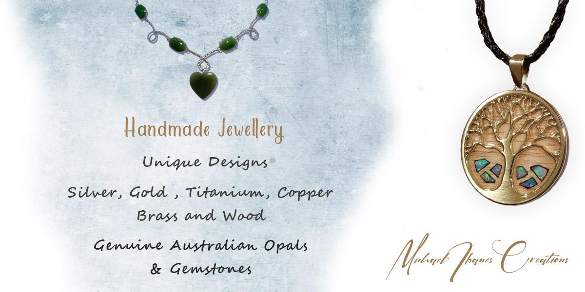 Michae Ibanes Creations - Handmade Australian opal jewellery.