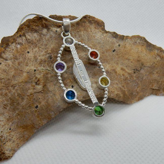 Chakry Style Opal Pendant